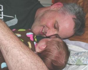 Daddy and Charlotte